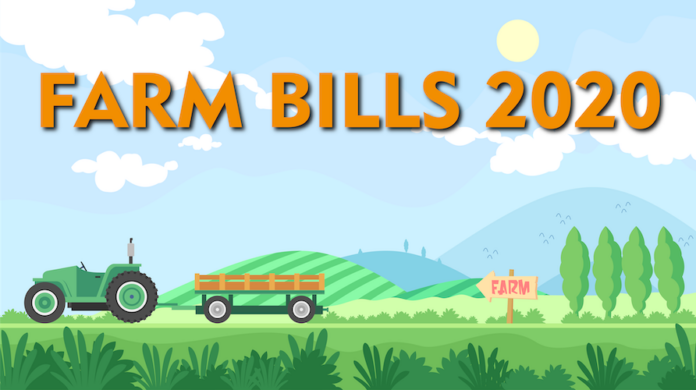 The government has come up with new farm bills having three ordinances related to agriculture. which has infuriated the farmers of the nation.